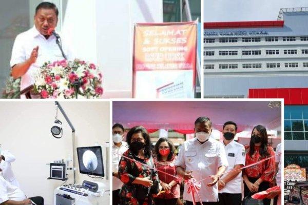 Gubernur Olly Optimis Rumah Sakit Daerah ODSK Sumber PAD Terbesar