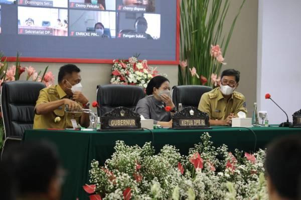 Hebat ! Puan Maharani Apresiasi Sulut Merupakan Provinsi Nomor 5 Terbaik Pertumbuhan Ekonominya di Indonesia