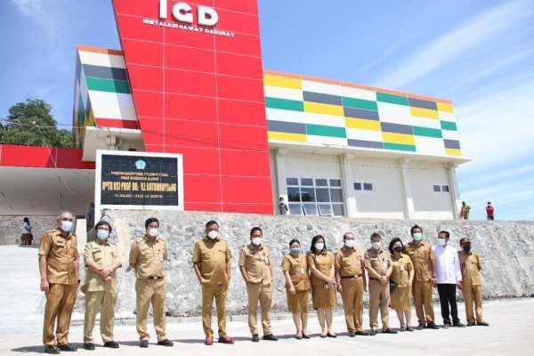 Jadi Pusat Rujukan di Indonesia Timur, ODSK Soft Opening RSJ Ratumbuysang