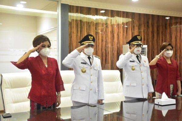 AARS ikuti Upacara Penurunan Bendera di Istana Negara secara Virtual