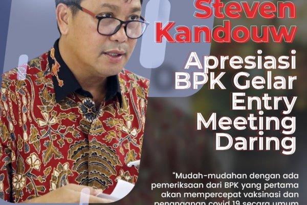 Wagub Kandouw Apresiasi Entry Meeting BPK