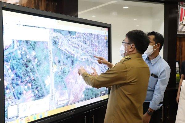 Terima Pengembang Taman Sari, Walikota Tanyakan apa Yang Akan Diserahkan ke Pemkot Manado