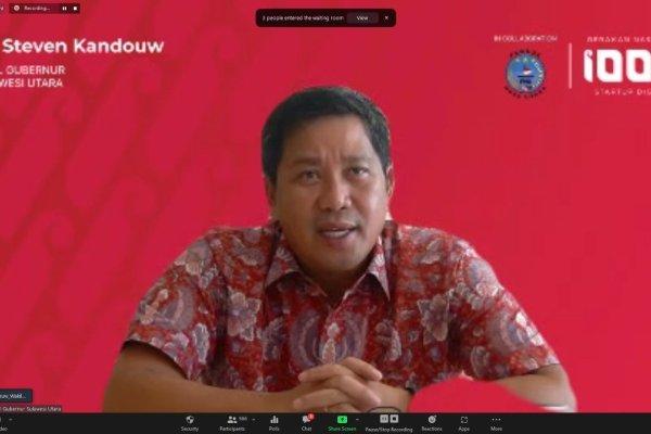 Wagub Kandouw Buka Roadshow Gerakan Nasional 1000 Startup Digital Pemuda Nusa Utara
