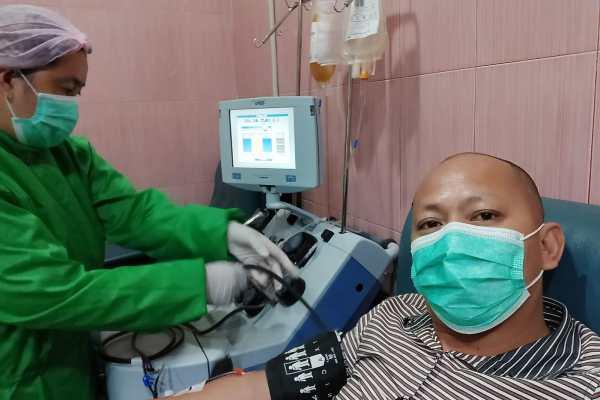 Wartawan Penyintas Pertama di Sulut Donor Plasma Konvalesen