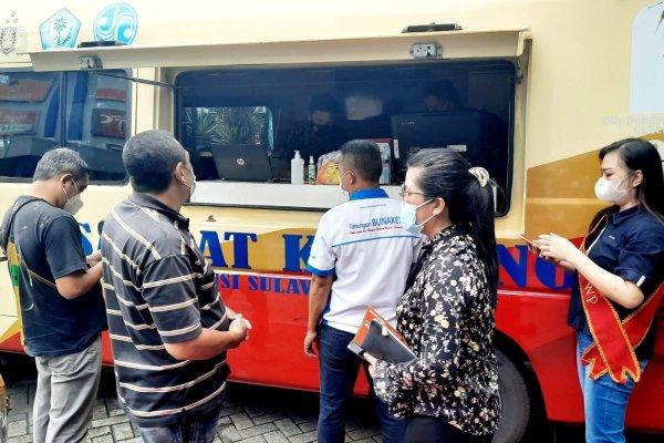 Manfaatkan Sabtu Minggu SAMSAT Manado Buka Pelayanan di Mantos