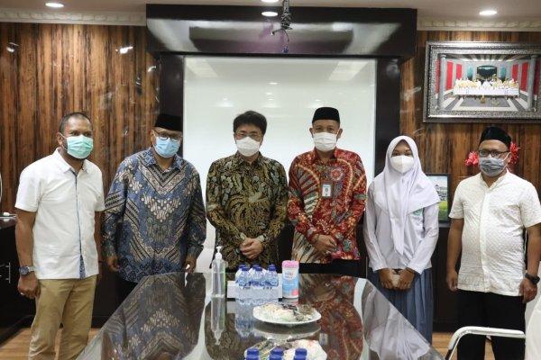 Walikota Menerima Anindita Rifa Farzana Pasiak, Siswa Berprestasi Tingkat Sulut