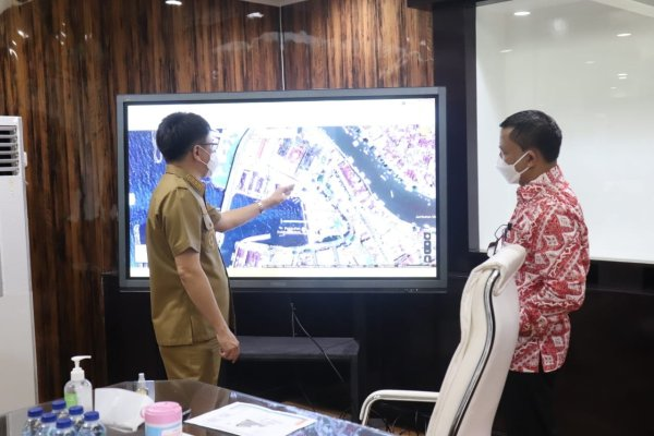Walikota Angouw Bertemu KPLP Manado untuk Koordinasi