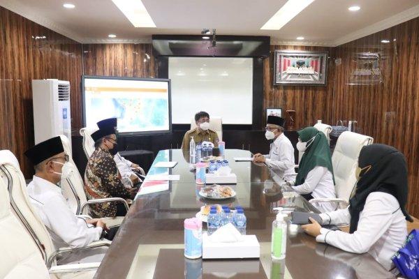 Walikota Angouw Terima Kunjungan BAZNAS Manado