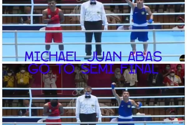 HEBAT ! Atlet Tinju Sulut Juan Abas Maju ke Babak Semifinal