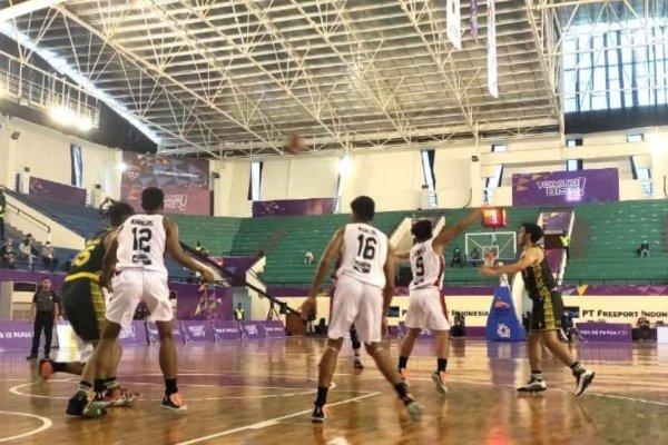 Hore ! Tim Basket Putra Sulut Lolos ke Babak Semifinal