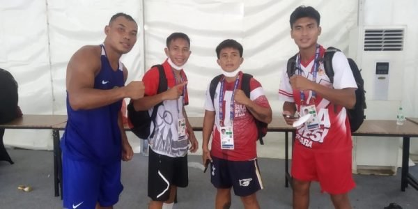 Masuk Semi Final, 4 Petinju Sulut Berpeluang Tambah Medali
