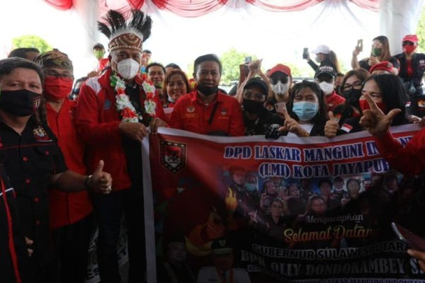 Warga Sulut di Jayapura Sambut ODSK Secara Antusias