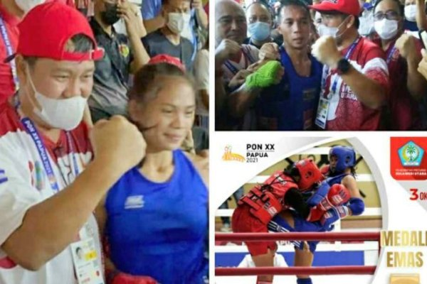 Dua Emas Sulut, Angelina Runtukahu – Prays Karundeng Hebat !