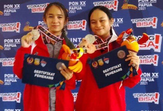 Lagi, Dua Atlet Menembak Putri Sulut Sumbang Medali