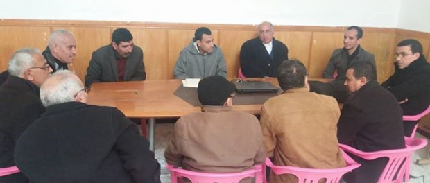 المكتب الإقليمي لبرشيد يحيي سكرتارية الإدارة التربوية