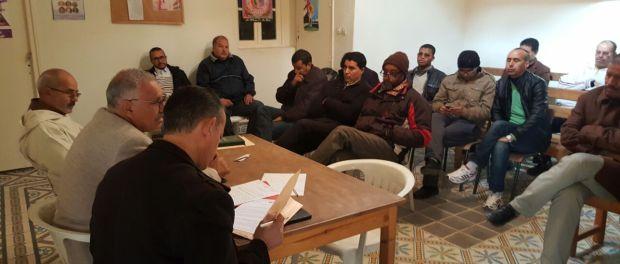 تجديد المكتب الإقليمي للنقابة الوطنية للتعليم (ف.د.ش) بورزازات
