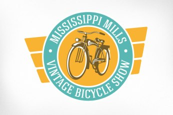 Branding designed for an annual exhibition featuring vintage bicycles on loan from museums and private collections. The event also serves as a forum for avid cyclists to explore and share culture and information. A stylized illustration of a antique bicycle was developed and placed in a charming badge with retro colours and vintage styling.