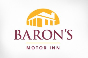 Barons Inn, a local boutique hotel, has been working on transitioning to a more upscale look and feel while remaining friendly and affordable. With an elegant, classic typeface and the edifice placed in a glowing setting sun, the new brand projects the character desired by the hotel: warm, welcoming, and trustworthy. A home away from home. Website also designed at Sumack Loft: www.carletonplacehotel.com.