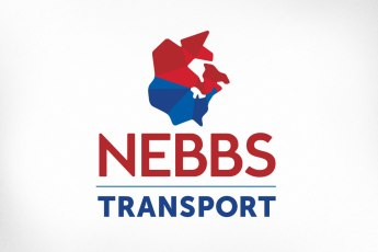 Nebbs Transport has been providing transportation solutions to manufacturers and suppliers throughout North America for almost 30 years. In 2016 the team recognized that their existing brand was badly in need of modernizing to keep the company competitive and credible in a busy marketplace. The new logo conveys a forward-thinking and modern company featuring a stylized illustration of a map with a visual effect that recalls the era of the crinkled map in the glove compartment, yet also powerfully suggests the notion of distribution to different areas of the continent.
