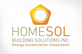 One of the interesting kinds of projects I occasionally get tasked with is taking someone's existing logo and improving upon it. Homesol Building Solutions had a logo that kind of perfectly represented what they do, but just didn't seem finished. The basic form was examined and enhanced, including containing it within a form that suggests a house. Along with some careful upgrades to typography and layout and Bob's your uncle. Website also designed at Sumack Loft: https://homesolbuildingsolutions.com.