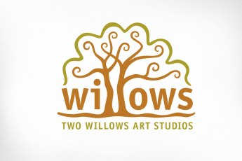 The Two Willows Art Studios ran for several years with biannual art shows offering a variety of art and handicrafts by diverse artists. The studio space features two magnificent willows on the property.