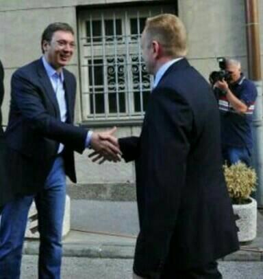 Aleksandar Vučić i Dragan Đilas