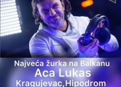 FANOVI GA JEDVA ČEKAJU: Aca Lukas sprema POSEBAN spektakl za koncert u Kragujevcu!