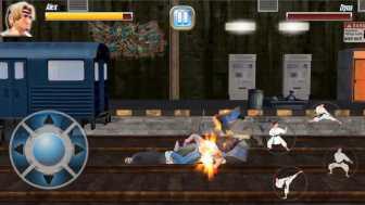 StreetRageFighter 倒れた敵を追撃もできますよ!