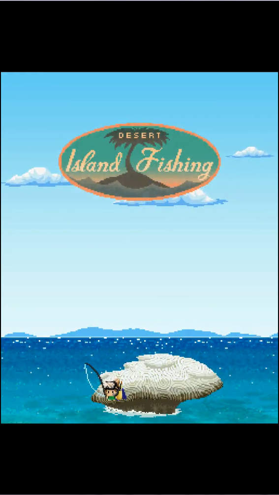 Desart Island Fishing タイトル画面