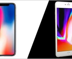 iPhoneXとiPhone8の比較