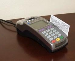 クレジットカードをスキャン