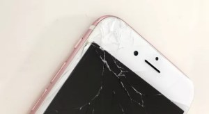 iPhoneの画面割れ修理