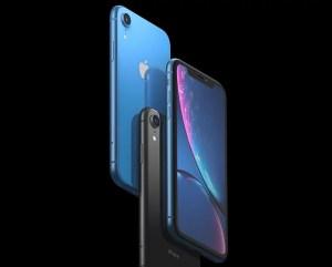 iPhone XR ブルー