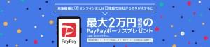 【WEB/電話限定】のりかえPayPayキャンペーン
