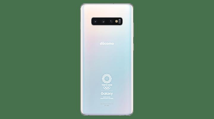 Galaxy S10+(SC-05L)オリンピック限定モデル(白)