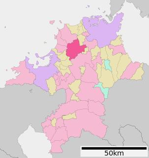 宮若市の位置