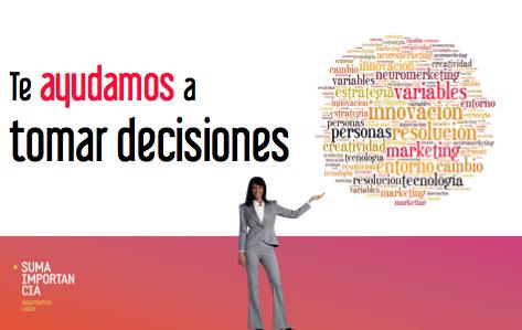 te ayudamos a tomar decisiones
