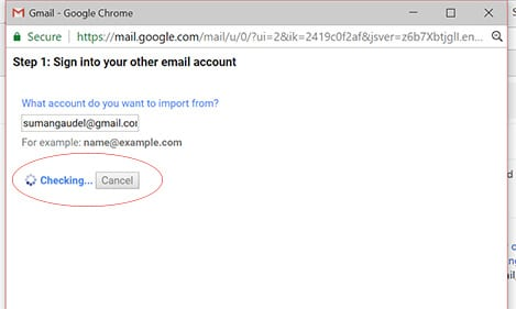 Backup Gmail Emails to Another Gmail Account-image for checking