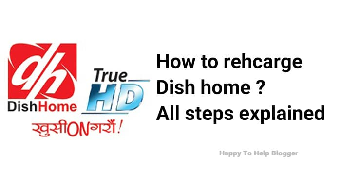 How to recharge dish home Image