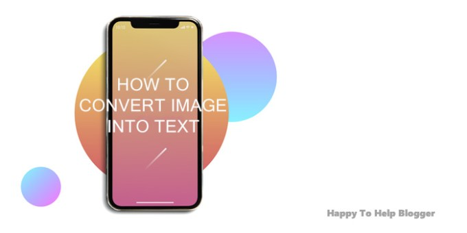 How to convert image into text featured image