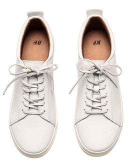 Zapatillas de Piel H&M