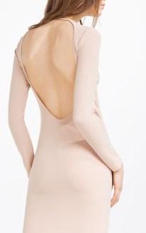 Vestido escote en la espalda - Zara