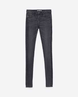 Jegging body tiro bajo- Zara