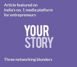 Featured article on Yourstory, India's no.1 media platform for entrepreneurs