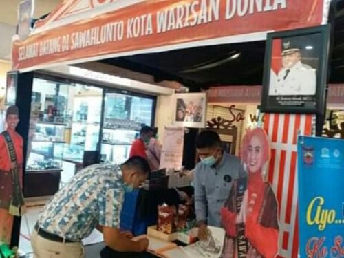 Sawahlunto ikuti pameran promosi pariwisata pada event the 3 Pekanbaru