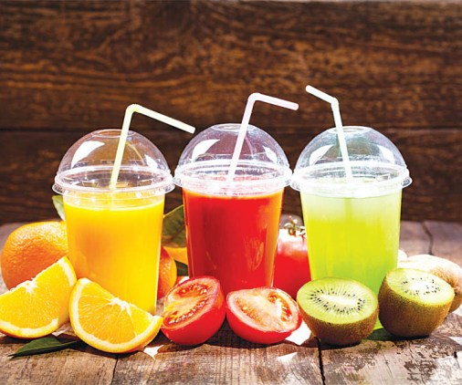 Juices that will keep you hydrated.