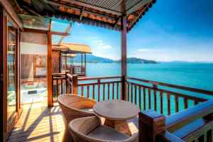 Domek na wodzie w Langkawi Island Resort | Malezja