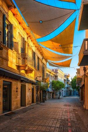 Ledra Ulica t w centrum Nikozji | Cypr
