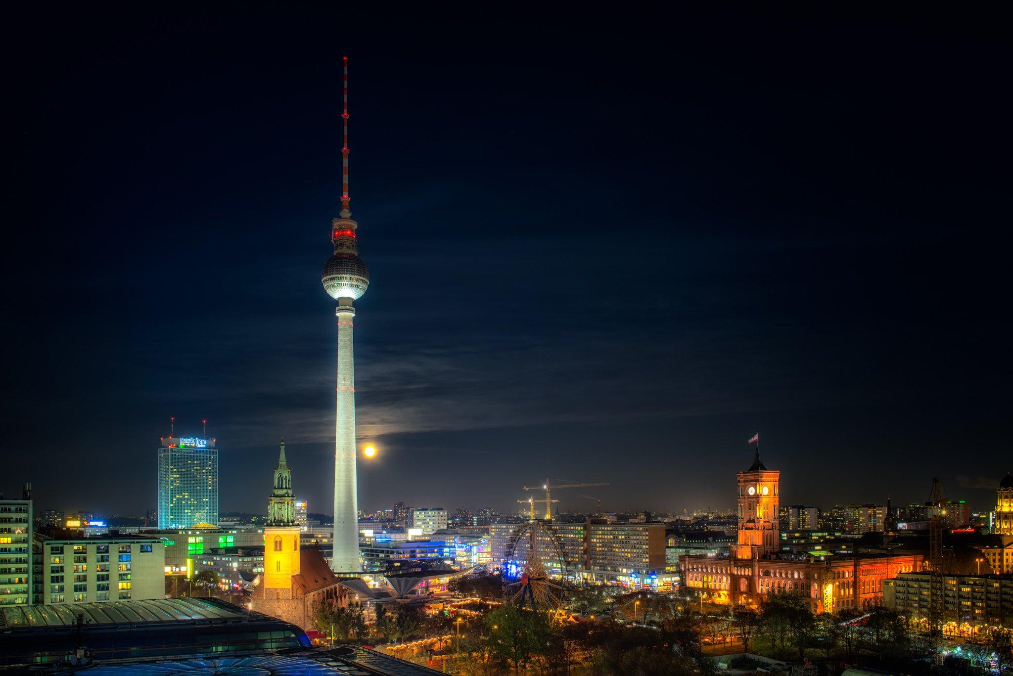 Super Księżyc 2016 Berlin | Niemcy