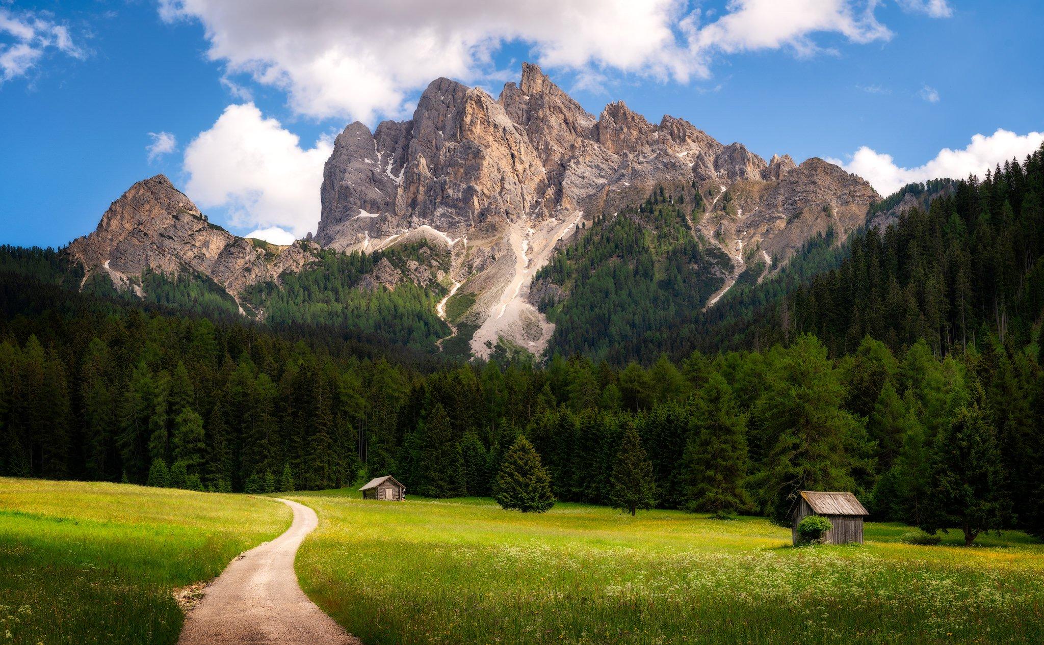Szczyt Vallandro | Dolomity, Włochy